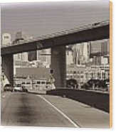 Heading Into The Busy Part Of San Francisco Wood Print