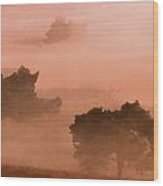 Heathland Wood Print