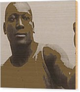 Heavyweight Boxing Champion Jack Johnson C.1910 Wood Print