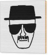 Heisenberg Breaking Bad Wood Print
