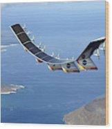 Helios Prototype, Solar-electric Wood Print