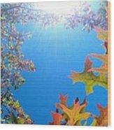 Hello Autumn Wood Print