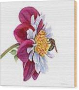 Hello My Flower Wood Print