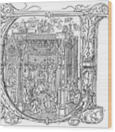 Henry Viii (1491-1547) Wood Print