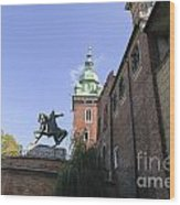 Historic Centre Cracow Poland  Wood Print