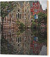 Historic Church St Louis Mo 2 Wood Print