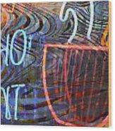 Ho Pants Wood Print