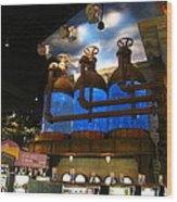 Hollywood Casino At Charles Town Races - 12123 Wood Print