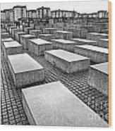 Holocaust Memorial - Berlin Wood Print