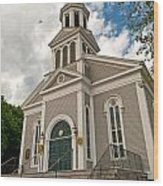 Holy Family Parish Wood Print