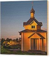 Holy Source. Karelia Wood Print