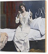 Home Medicine, 1901 Wood Print