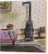 Homestead Room Wood Print by John Williams