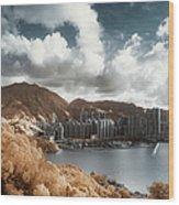 Hong Kong Wood Print