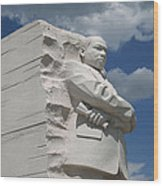 Honoring Martin Luther King Wood Print