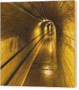 Hoover Dam Tunnel Wood Print