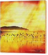 Hope On A Wing And A Prayer Wood Print