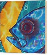 Horse -eyed Jack Wood Print