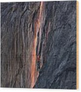 Horsetail Falls 9935 Wood Print
