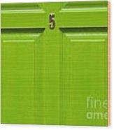 House Door Wood Print