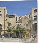 Houses In Jaffa Tel Aviv Israel Wood Print