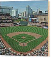 Houston Astros V Baltimore Orioles Wood Print