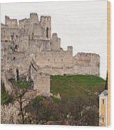 Hrad Beckov - Castle Wood Print