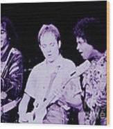 Humble Pie - On To Victory Tour At The Cow Palace S F 5-16-80 Wood Print