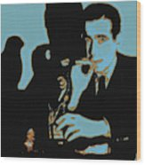Humphrey Bogart And The Maltese Falcon 20130323m88 Square Wood Print