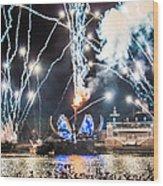 Illuminations Wood Print