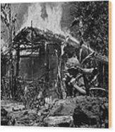 Images Of Vietnam Wood Print