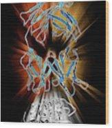 Immunoglobulin G Antibody And Egg White Wood Print