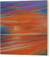 Impression Sunset 02 Wood Print