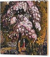 In A Shoreham Garden Wood Print