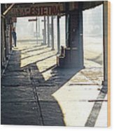 In The Shadows Of Mexicali Wood Print
