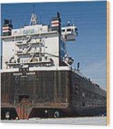 Indiana Harbor 4 Wood Print