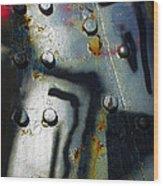 Industrial Detail Wood Print