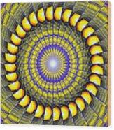 Infinity Gateway Nine Kaleidoscope Wood Print
