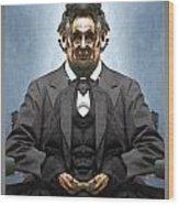 Inner Lincoln Wood Print
