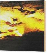 Inside Lost Sea Caverns Wood Print