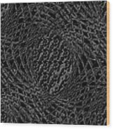 Inter-woven Wood Print
