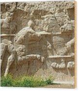 Iran Naghsh E Rostam Wood Print