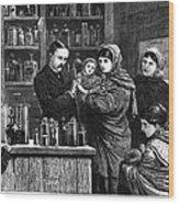 Ireland: Vaccination, 1880 Wood Print