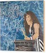 Iron Maiden Wood Print
