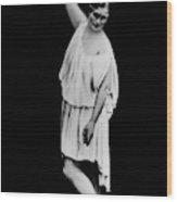 Isadora Duncan (1877-1927) Wood Print
