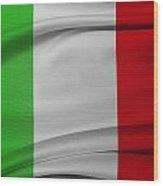 Italian Flag  Wood Print