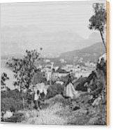 Italy Sorrento, C1869 Wood Print