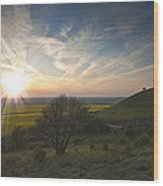 Ivinghoe Beacon Wood Print