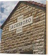 Jacksboro Texas Wood Print