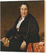 Jacques-louis Leblanc Wood Print